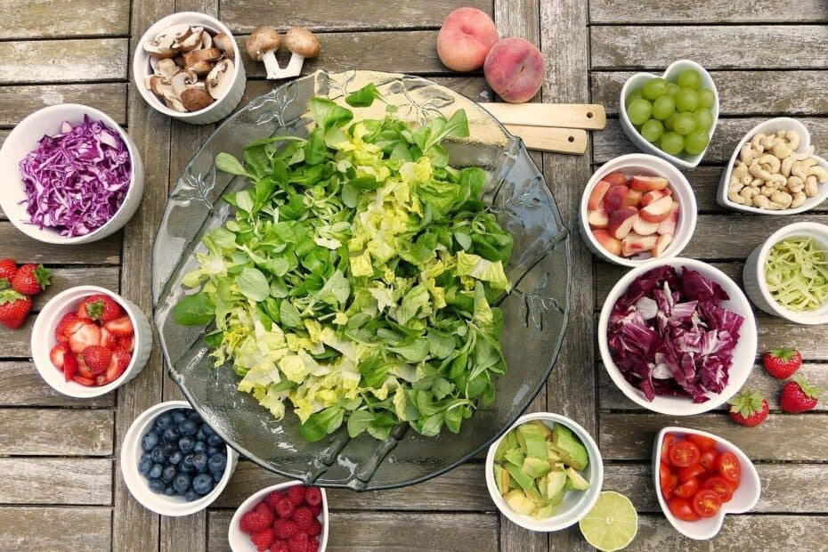 Healthy food as healthy food